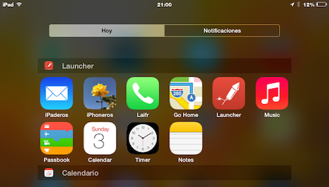 Launcher iPad