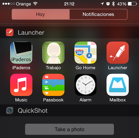 Launcher iPhone iPaderos