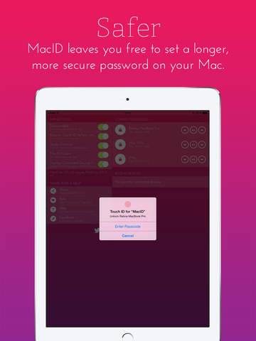 MacID for iOS