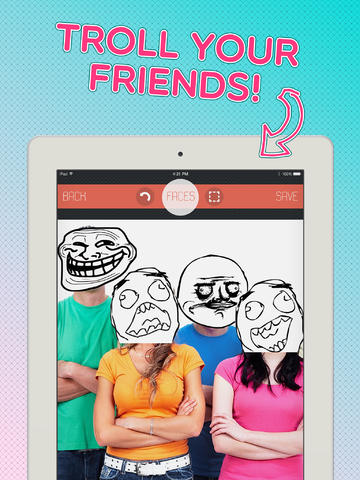 Rage Faces - FREE iFunny Photo Booth Editor App with Meme Comics and Stickers for Your Pictures