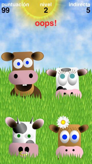 Simoo - Simple Simon dice juego con las vacas