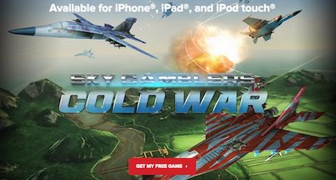 Sky Gamblers- Cold War portada