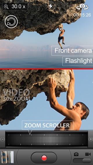 Video Zoom (30X zoom)