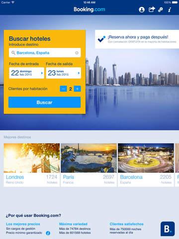 Booking.com- reserva en más de 612.000 hoteles