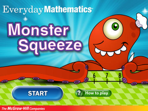 Everyday Mathematics® Monster Squeeze