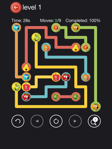 New Fruits Flow - A Free Matching Fun Mind Game