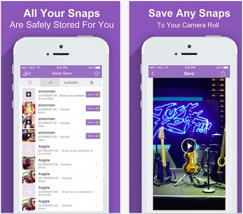 Snap Save - save your photos and videos for snapchat free