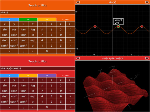 Solve - A colorful graphing calculator