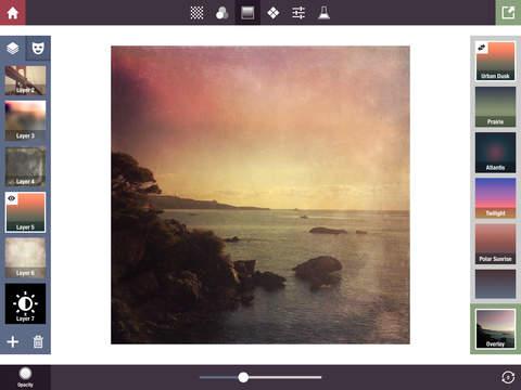 Stackables for iPad - Texturas, Efectos, y Máscaras en Capas