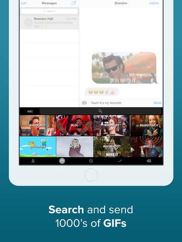 Teclado Fleksy - GIFs, extensiones personalizadas y temas