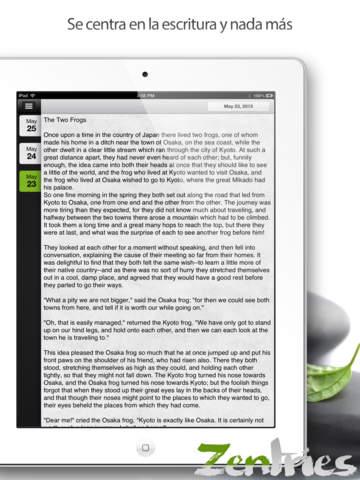 Zentries Un Atractiva e Intuitiva Diario y Escritos Personales
