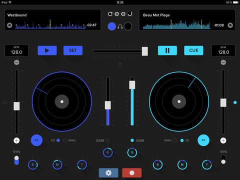 deej - Mesa de mezclas para DJ. Edición Loops & Effects