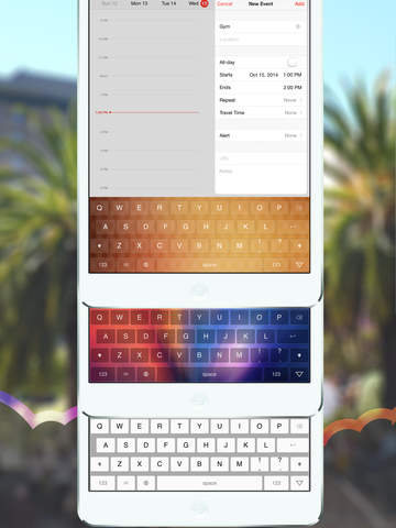 Rainbow — The Custom Color Keyboard for iOS 8