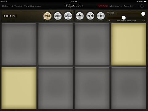 Rhythm Pad (Pad de batería:percusión)