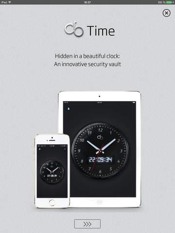 cb Time - Secure vault hidden in an alarm clock