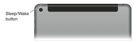 iPad boton reposo