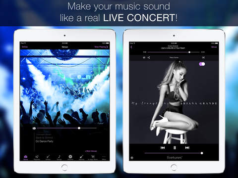 LiveTunes- Make your music sound LIVE