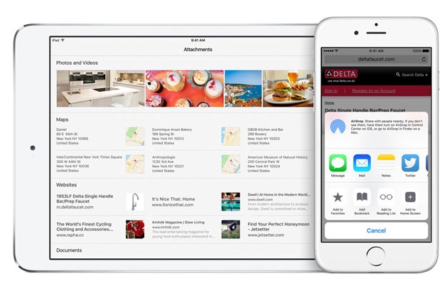 Notas iOS 9 4