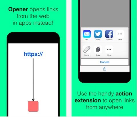 Opener para iOS