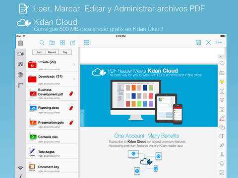 PDF Reader Premium – Anotación, escaneos, rellenar formularios e añadir notas