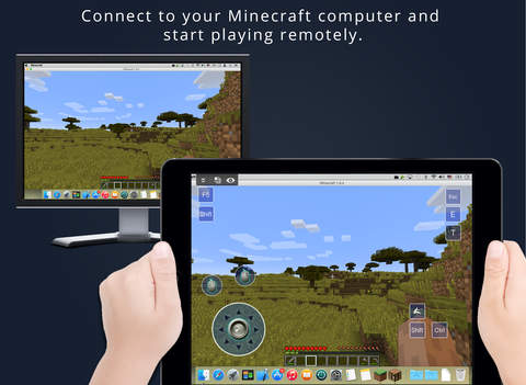 Remote Gaming for Minecraft - Stream Full Minecraft from Your PC : MAC