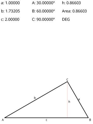 Trigonometry- Triangle Solver
