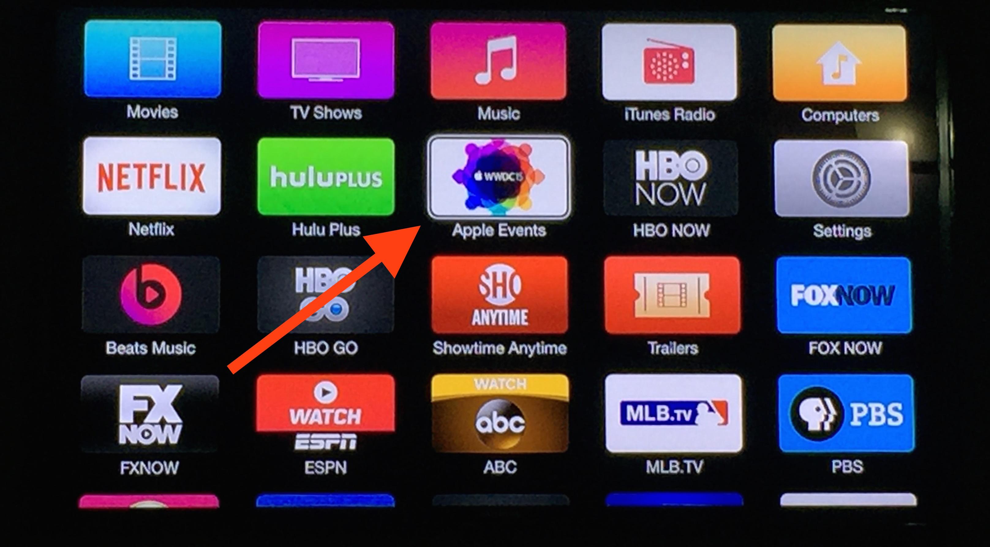 apple tv wwdc 15