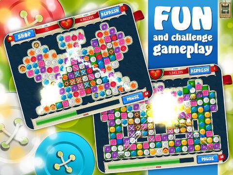 Small Buttons Premium- Fun Match 3 Adventure