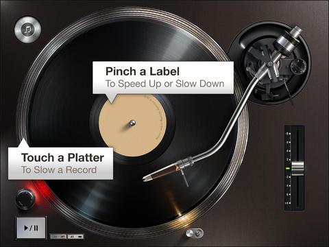 Turnplay - el mejor tocadiscos para iPad