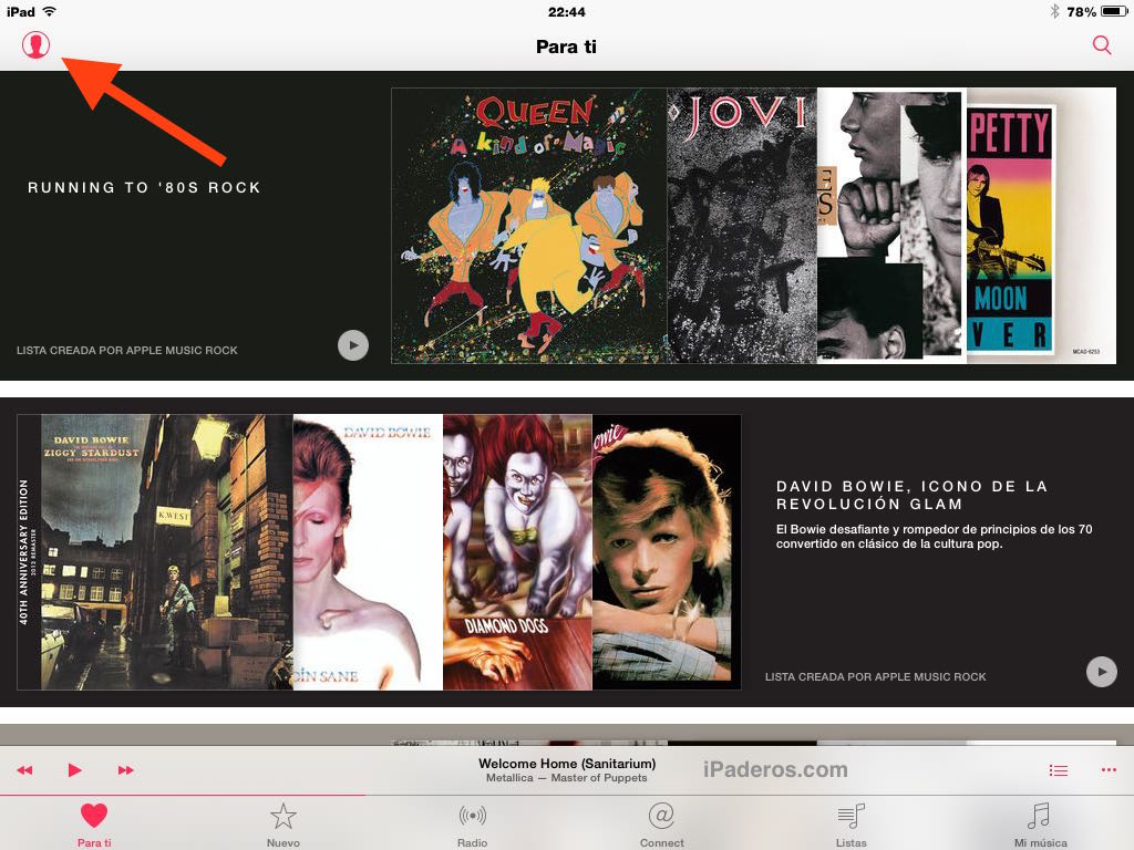 desactivar apple music 1