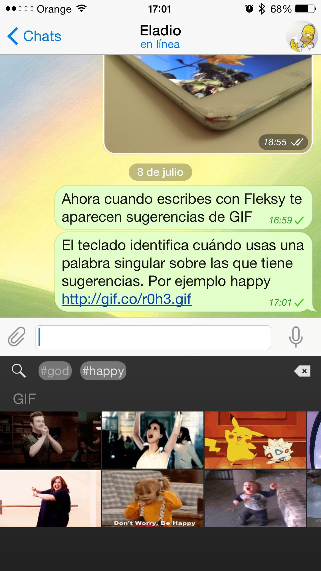 fleksy hashtag