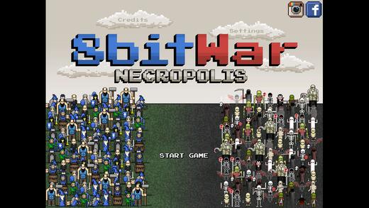 8bitWar- Necropolis