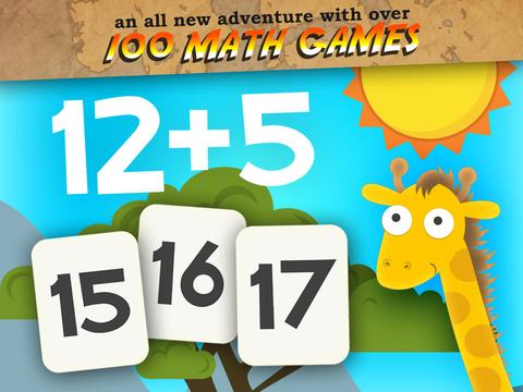 Animales Primeros Juegos de Matemáticas Grado para Niños con Habilidades