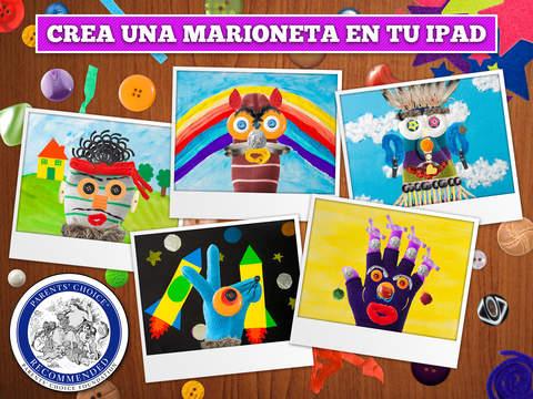 Puppet Workshop - Aplicación creativa para niños