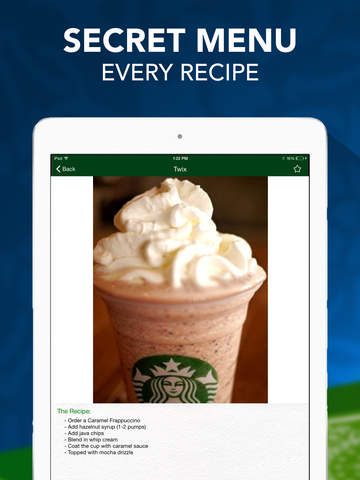 Secret Menu for Starbucks Pro