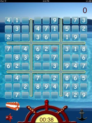 Sudoku By The Sea