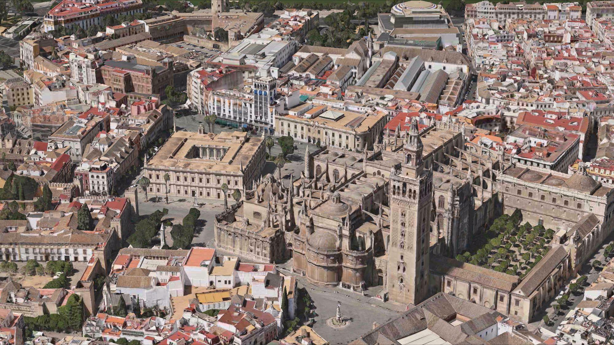flyover Sevilla