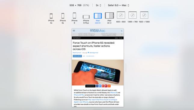 iPad mini 4 split view 2