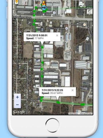 Chirp - GPS Tracking App