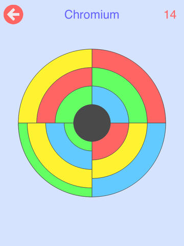 Circles - Rotate the Rings, Slide the Sectors, Combine the Colors