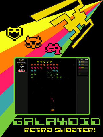Galaxoid- A Retro Space Shooter