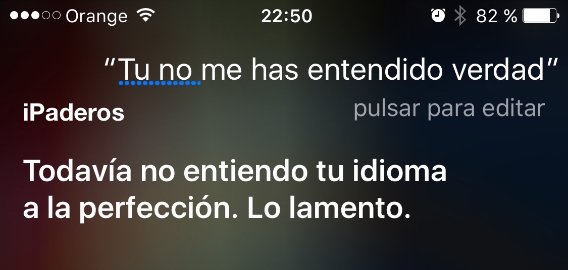 fallo siri idiota en iOS 9