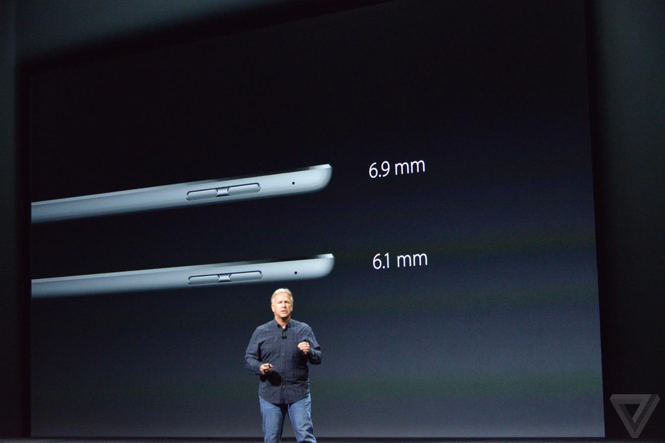 grosor iPad pro