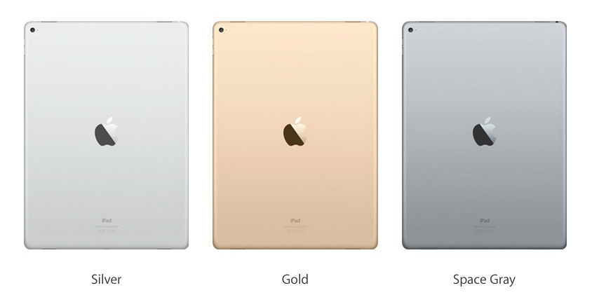 iPad Pro colores