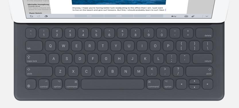 iPad Pro teclado keyboard