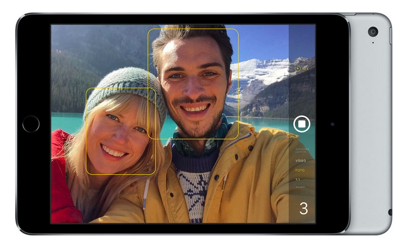 iPad mini 4 cámara