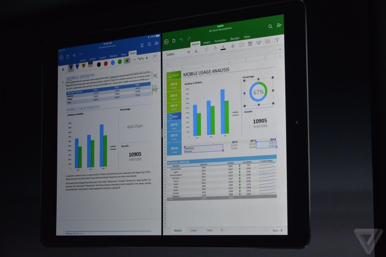 office en iPad pro