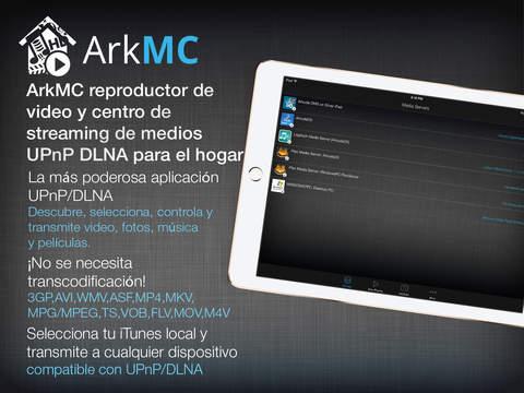 ArkMC Pro- servidor de streaming y reproductor de video DLNA UPnP