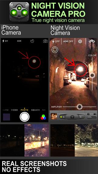Night Vision Camera (Photo & Video)