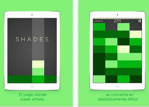 Shades Un juego simple de rompecabezas